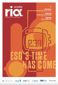 RIA Supplement - ESG - October 2019 COVER