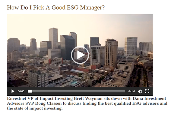 Video-How do I pick a good esg manager