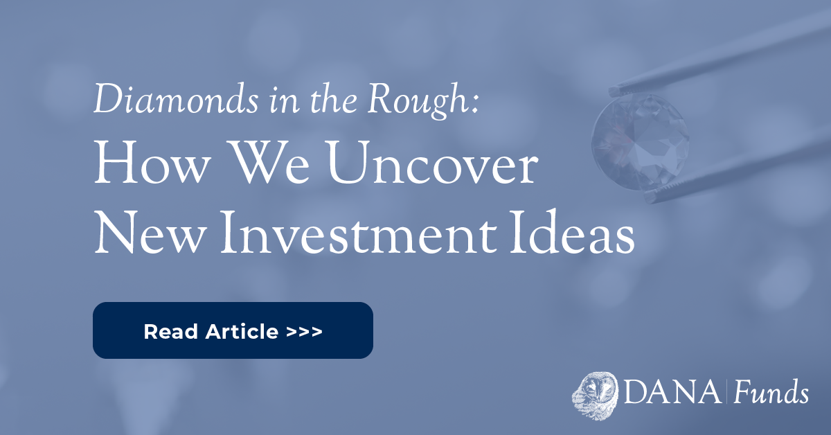 Diamonds in the Rough: How We Uncover New Investment Ideas